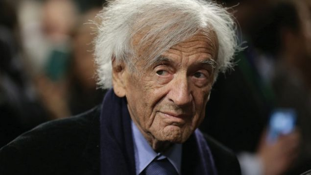 Wiesel was Hitler's worst posthumous nightmare — a Jew with a pen, a voice and a global pulpit. Getty Images