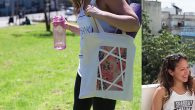 Mashu Designs touts its T-shirts and tote bags as products they actually would 'want to be seen wearing in public.' MASHU DESIGN