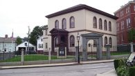 The legal battle over historic Touro Synagogue in Newport, R.I. Wikimedia Commons