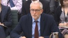 Jeremy Corbyn speaking at the Home Affairs Select Committee