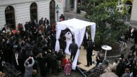 A traditional Jewish wedding