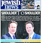 The Jewish News front-page on 13 May 2010, when David Cameron joined forces with Nick Clegg in a Con-Lib coalition