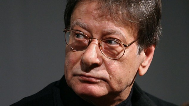 Palestinian poet Mahmoud Darwish in Amman, Jordan, February 23, 2008. AP/Nader Daoud