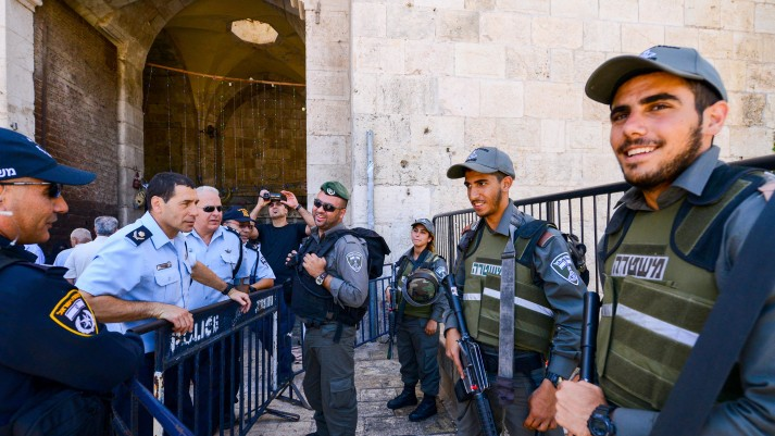 Jew Detector: Jerusalem Police At Highest Level Of Alert After Terror