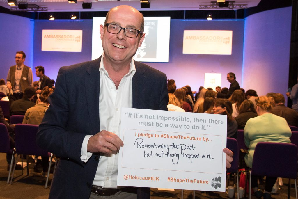 Broadcaster Nick Robinson pledges to shape the future