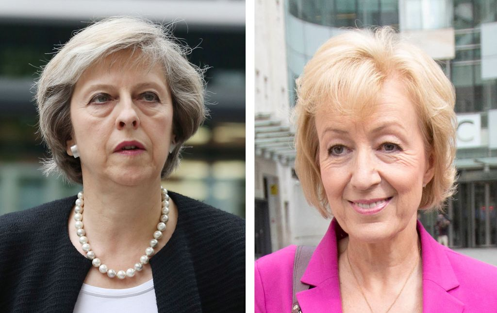 Theresa May and Andrea Leadsom win Tory MP vote as Gove eliminated