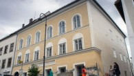 The house in which Hitler was born
