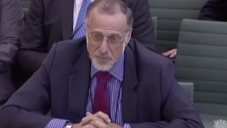 Sir Mick Davis appearing at the committee