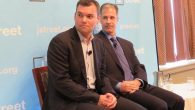 Speaking earlier at a J Street session, journalist Peter Beinart, has written extensively about the drift away from Israel. JTA