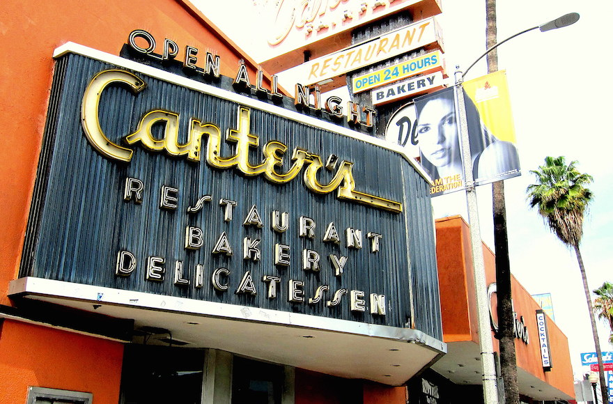 Canter's Deli in Los Angeles. (Flickr Commons via JTA)