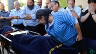 Rina Ariel mourning over the body of her 13-year-old daughter Hallel, who was fatally stabbed by a Palestinian attacker. JTA