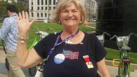 Judy Jackman, a member of Christians United for Israel from Texas, appreciates Donald Trump's honesty and outsider status. JTA