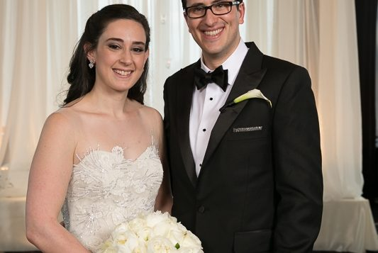 Michael Biblowit and Julie Cannold were married on April 2, 2016 in Manhattan. Hechler Photographers