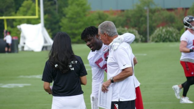 Photos: Falcons Begin Training Camp 1