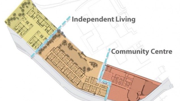 proposed new site layout