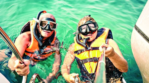 Worry-free snorkelling!