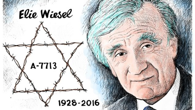 Wiesel a Champion in the Cause of Humanity 1