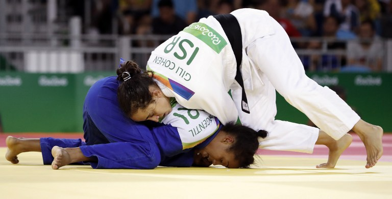 Rio 2016: Saudi competitor 'forfeits match to avoid playing Israeli'