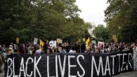 A Black Lives Matter rally in New York.  Getty Images