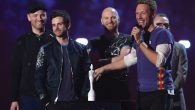 Coldplay at Brit Awards show earlier this year. Getty Images