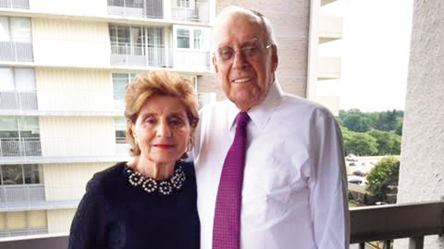 Judy and Rabbi Jacob Reiner moved to Fort Lee four years ago.