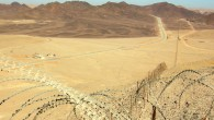 Israel-Egypt border, overlooking the Sinai peninsula