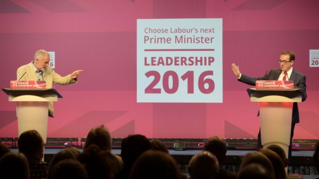 Jeremy Corbyn and Owen Smith (Photo credit: Ben Birchall/PA Wire)
