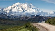 The road to awe: Denali National Park. Wikimedia Commons