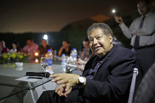Egyptian chemist, Nobel laureate Ahmed Zewail dies at 70