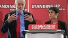 Corbyn-ShJeremy Corbyn with Shami Chakrabarti at the enquiry into Labour anti-Semitism ami-e1470338442898