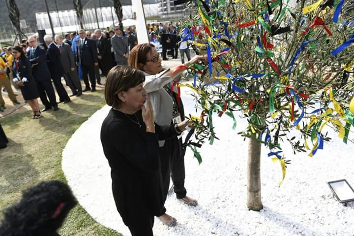 Honouring the victims of the Munich Massacre