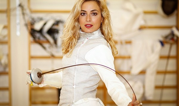 Fencer Delila Hatuel