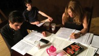 "Reading through the script for ""My Name is Asher Lev."" (James Janoff)"
