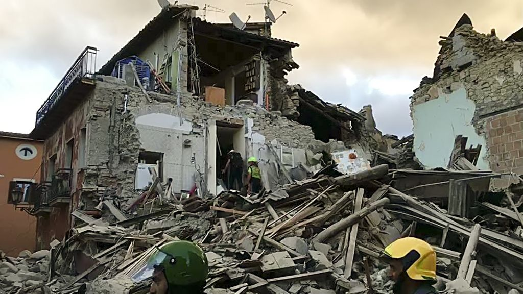 Italy quake leaves at least 38 dead, according to first official toll ...