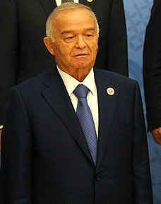 Uzbek leader Islam Karimov chairs the meeting of the Shanghai Cooperation Organization in Tashkent, 24 June 2016. (CC BY 4.0 Kremlin.ru/Wikipedia)