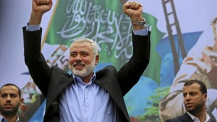 Ex-PM of Gaza, and new Hamas leader Ismail Haniyeh