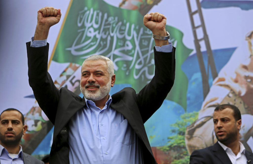 Ex-leader of Hamas Ismail Haniyeh