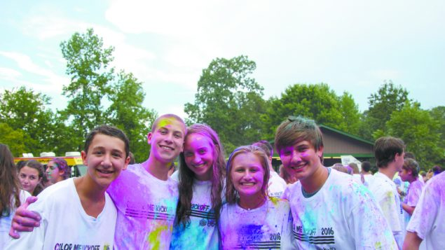 Atlanta BBYO Holds Color Me Kickoff 1