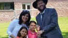 Rabbi Simcha Morgenstern and his family