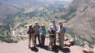 Participants on a Road Scholar trip along Peru's Inca Trail. Courtesy of Road Scholars