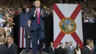 Donald Trump at a rally at the Veterans Memorial Arena in Jacksonville, Fla., Aug. 3, 2016. (Mark Wallheiser/Getty Images)