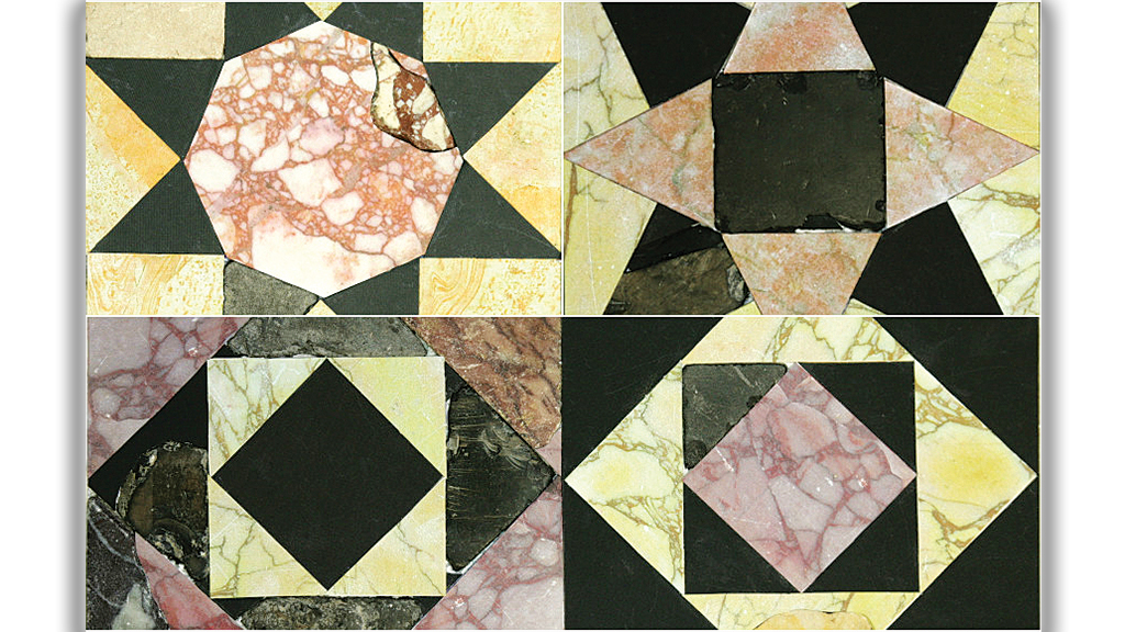 Marble floors of the lost Temple