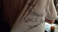 A T-shirt saying the Holocaust was a good thing