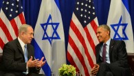 U.S. President Barack Obama had a fraught relationship with Israeli Prime Minister Benjamin Netanyahu. Here the two met in New York, Septermber 2016  Photo credit: Kobi Gideon/GPO via JINIPIX