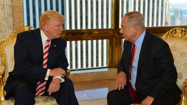 Prime Minister Benjamin Netanyahu met with Donald Trump in September. (Photo by Kobi Gideon/GPO via JINIPIX)
