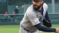 "Shlomo Lipetz, 37, one of two native Israelis on the team, says he's ""living the dream"" competing in the World Baseball Classic."