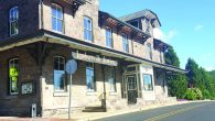 A repurposed train depot, Lambertville Station is now a historic inn and restaurant. Hillary Danailova/NJJN