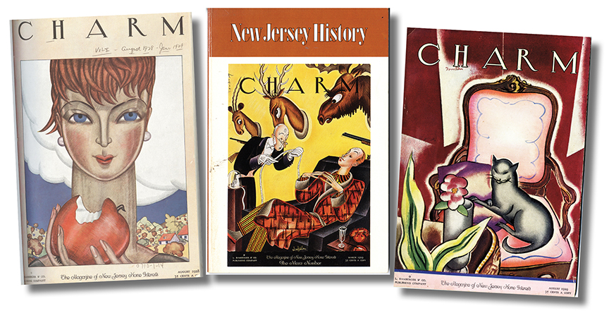 Louis Bamberger started Charm, a high-values publication aimed at upscale women consumers.