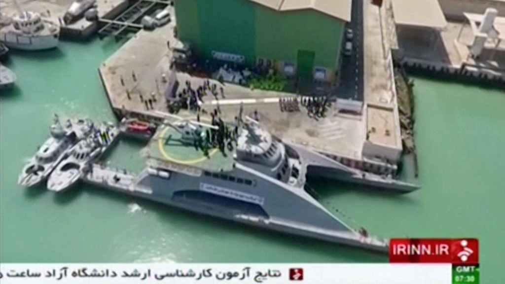 Iran threatened to launch missiles to shoot down Navy aircraft