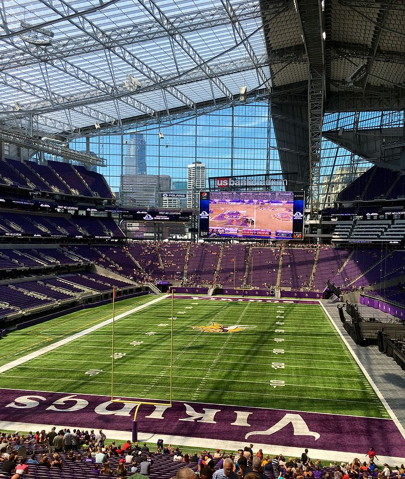 Minnesota Vikings Owner Thinks Big With New Stadium And